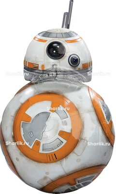 Фигурный шар Звездные войны Дроид BB8