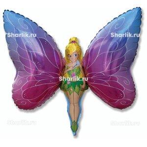 Фигурный шар Фея-бабочка
