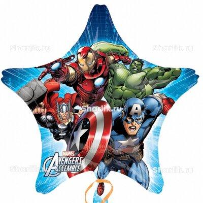 Шарик-звезда Мстители команда