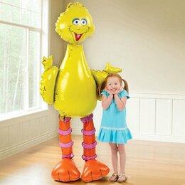 """Надувной ходячий шар """"Большая Жёлтая Птица"""""""