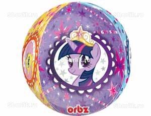 Шар 3D-сфера Мой маленький пони