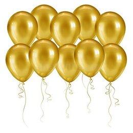 Воздушные золотые шары на День Рождения