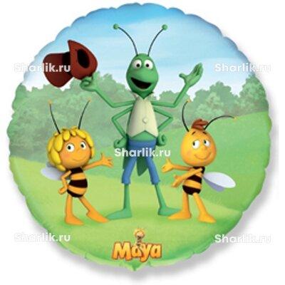Шарик-круг Пчёлка Майя