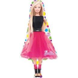 Фигурный шар с Барби