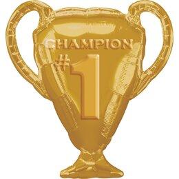 Фигурный шар Кубок чемпиона золотой