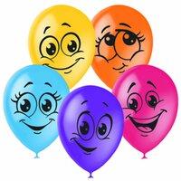 Шары Цветные улыбки