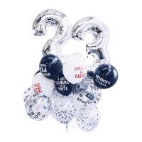 Букет шаров с цифрами на день рождения Молодёжный