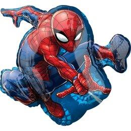 Фигурный шар Человек Паук в прыжке