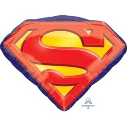 Фигурный шар Супермен эмблема