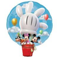 Фигурный шар Микки Маус на воздушном шаре
