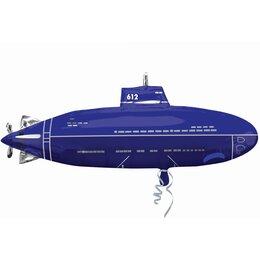 Фигурный шар подлодка синяя