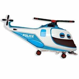Фигурный шар Вертолет полицейский