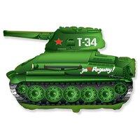 Фигурный шар зеленый танк Т-34