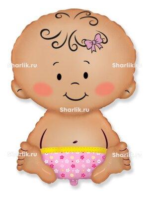 Фигурный шар Малышка
