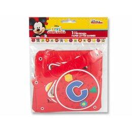 Гирлянда буквы С Днем Рождения Микки Маус