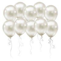 Белые шары (металлик)