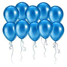 Синие шары (металлик)