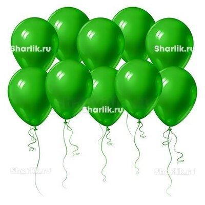 Зелёные шары