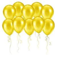 Жёлтые шары (металлик)