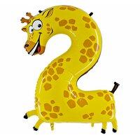 Шар-цифра 2 - Жираф