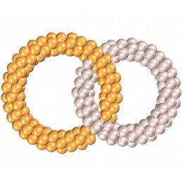 Свадебные кольца из шаров