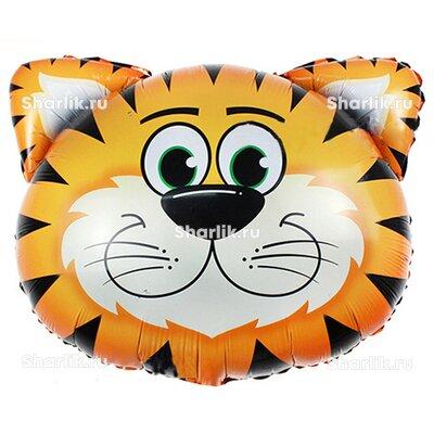 Фигурный шарик Голова тигра