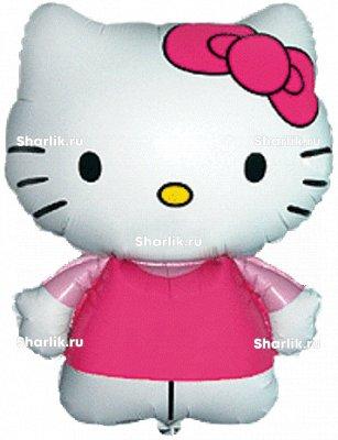 Фигурный шар Hello Kitty