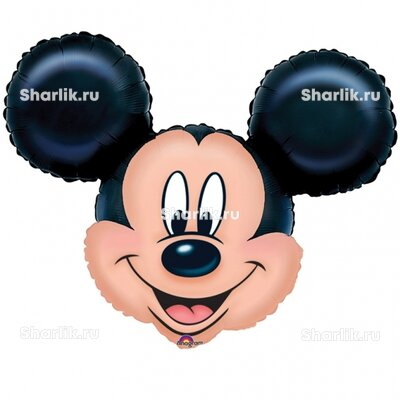 Фигурный шар Микки-Маус (голова)