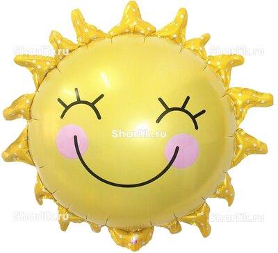 Фигурный шар Улыбающееся солнышко