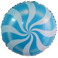 Шарик-круг Леденец голубой