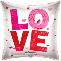 Фигурный шар LOVE