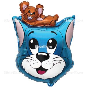 Фигурный шар Том и Джерри