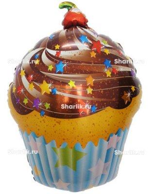 Фигурный шар Шоколадный кекс
