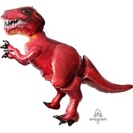 Ходячий шар Тираннозавр красный