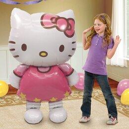 Ходячий шар котёнок Hello Kitty