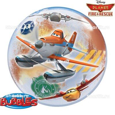 Шар Bubble Дисней Самолеты Огонь и вода