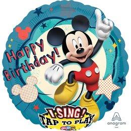 Поющий шар Happy Birthday Микки Маус