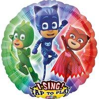 Поющий шар с персонажами Герои в масках