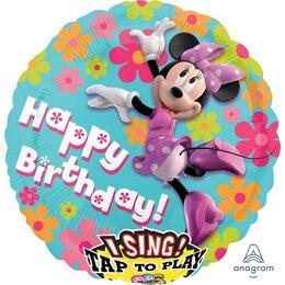 Поющий шар Happy Birthday Минни Маус