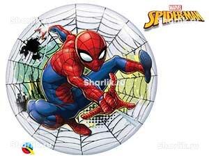 Шар Bubble Человек Паук