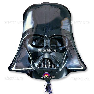 Фигурный шар Звездные войны шлем Вейдера