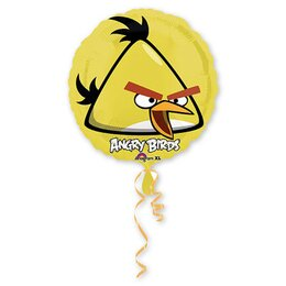 Шарик-круг Желтая птица Angry Birds