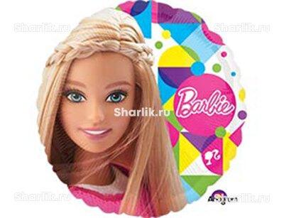 Шарик-круг с Барби