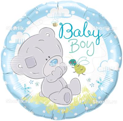 Шарик-круг Мишка Тедди малыш