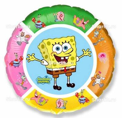 Шарик-круг Спанч Боб и друзья