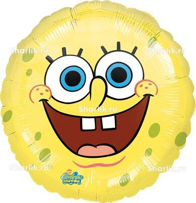 Шарик-круг веселый Губка Боб