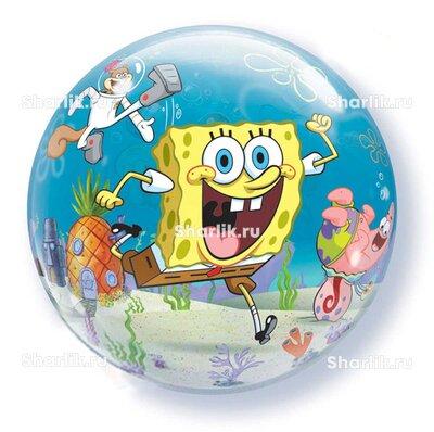 Шар Bubble Спанч Боб