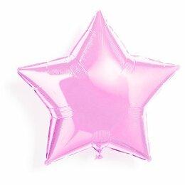 Шар Розовая звезда