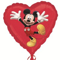 Шарик-сердце Микки Маус