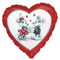 Шарик-сердце влюбленные Микки и Минни